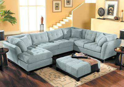Cindy Crawford sectional couch - $1250 (Leesville, LA)