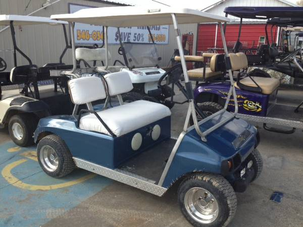 golf cart w rims  -   x0024 1499  eunice