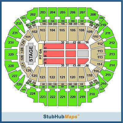2 tickets Brad Paisley - Beat This Summer Tour - Omaha  NE -  150  Omaha  NE