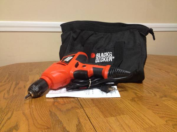 Black and Decker Drill -   x0024 18  Pineville