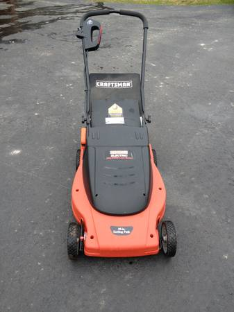 Craftsman Mulching Electric Lawn Mower -   x0024 150  Woodworth
