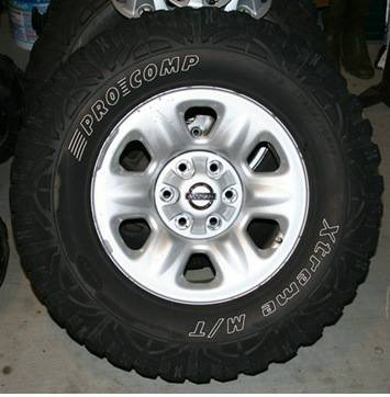 33 Mud Tires With Wheels - $800 (Alexandria, LA)