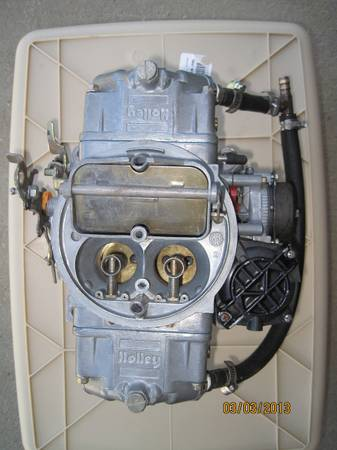Holley Street Avenger Carburetor 670 CFM (REBUILT) - $200 (Fort Polk, LA)