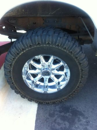 F250 tires and rims MUST SEE - $900