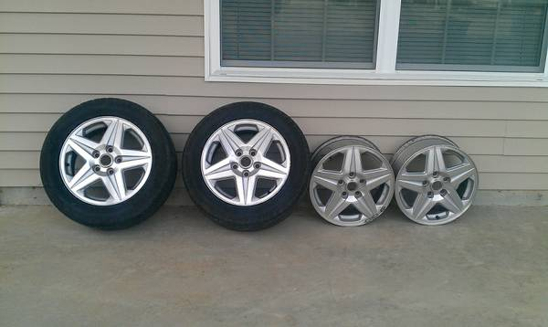02-03 Monte Carlo SS RIMS, Set of 4 - $75 (Fort Polk)