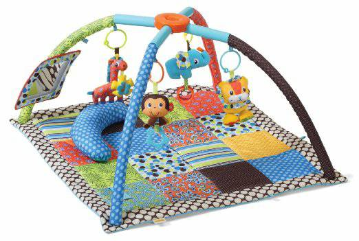 Infantino Play Mat with Tummy Time pillow and Play Mirror -   x0024 15  Alexandria