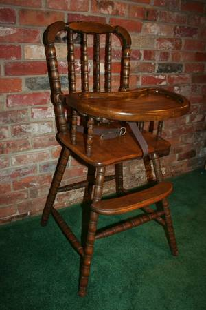 Vintage Jenny Lind Wooden High Chair - $99 (Central Louisiana)
