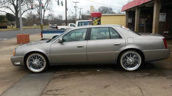 03 Cadillac on 20in Swangas - x00247500