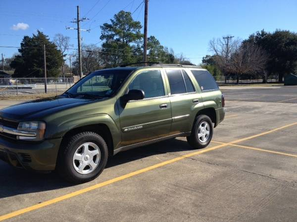 2002 Chevy Trailblazer -   x0024 4500  Sulphur  LA