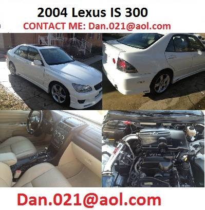 2004 Lexus IS 300 - $2200
