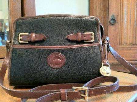 DOONEY AND BOURKE All Weather Leather Equestrian Purse Handbag - $35 (North Bossier)
