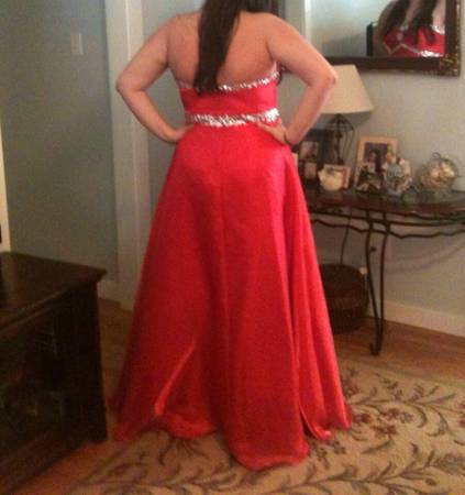 Prom dress for sale size 18 -   x0024 150  Alexandria
