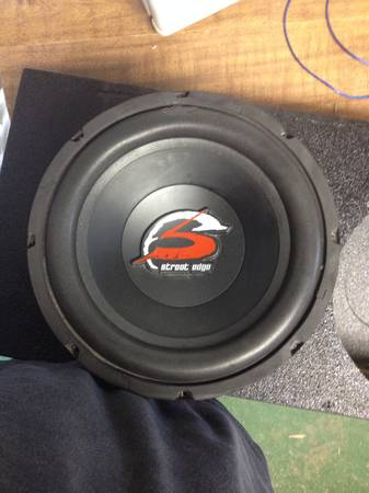 Memphis 12 sub with box and - $120 (Eunice)