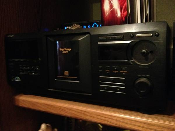 Sony 400 Mega CD Storage -   x0024 80  Denham Springs