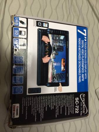 7  touchscreen car audio CD player -   x0024 150  natchitoches  la
