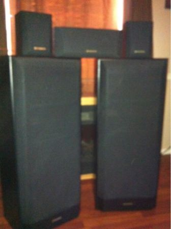 Pioneer cs-r590 tower speakers - $1 (Jena)