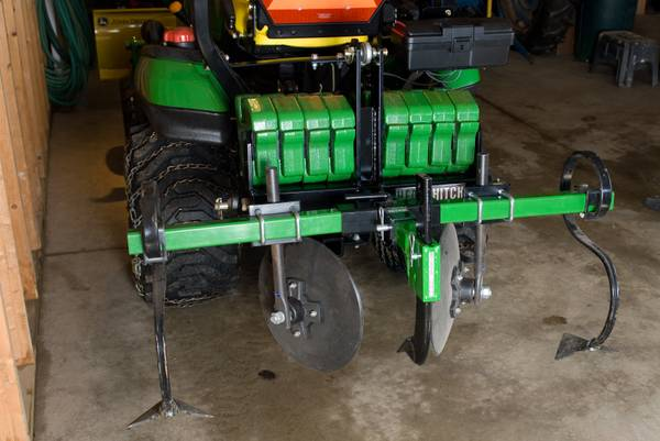 Garden Bedder and Other Small Tractor Attachments