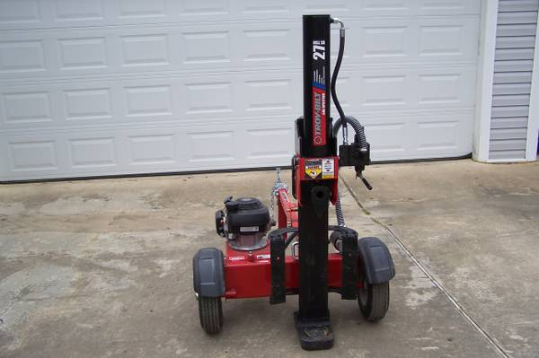 For Sale 27 Ton Troy Bilt Log Splitter - $1100 (Deville, LA )