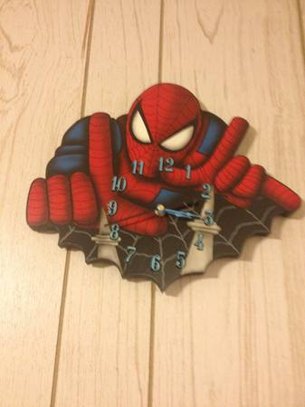Spider-man clock -   x0024 70  Pineville