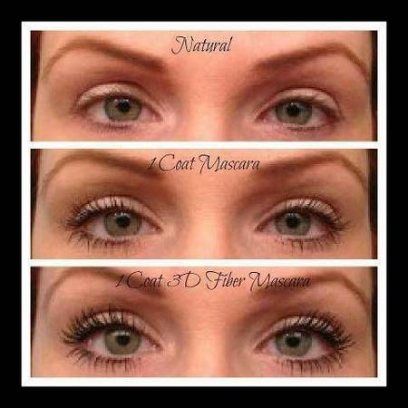 Younique 3D Fiber Lashes and All-Natural Cosmetics