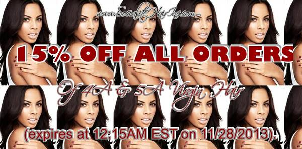 THE BEST VIRGIN HAIR EVER      is on sale now-15  OFF  central la