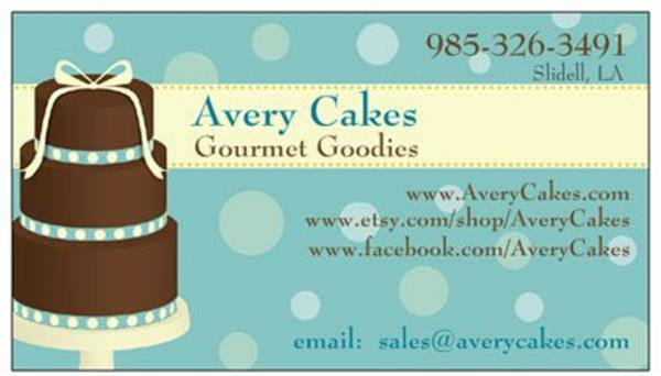 Custom Cakes by Avery Cakes  central la