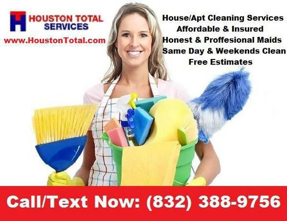 Affordable House Cleaning- Call or Text Now 832-388-9756