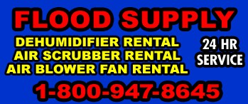 Dehumidifying Service Flood Drying Company Houston Corpus Christi Galveston Beaumont Texas City TX
