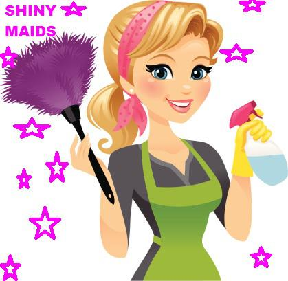 WELCOME  TO SHINY MAIDS  Professional Cleaning Services Same Day Service