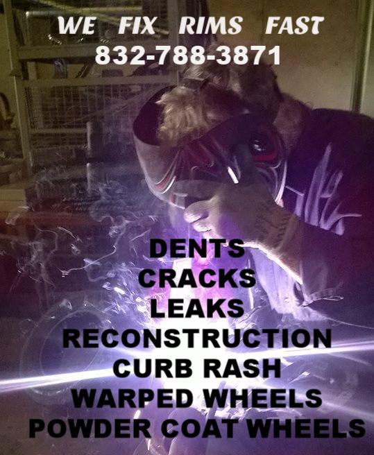 wheel repair - dents cracks leaks reconst  guaranteed
