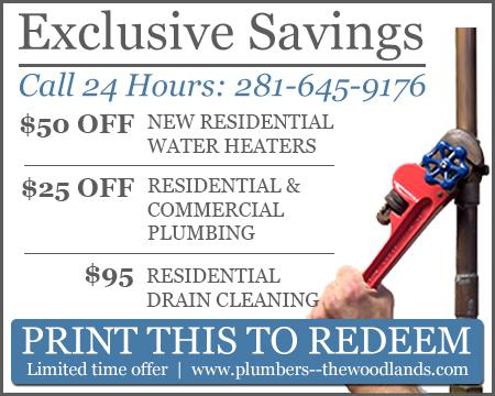 Plumbers The Woodlands TX