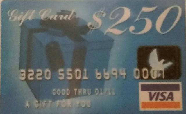 GOING LIKE HOT CAKES  100-  250 VISA Cash Card Claim Yours NOW TODAY