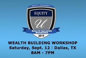 Saturday Sept 12 Investors Learn How To Increase Your Wealth with Equity Trust Event