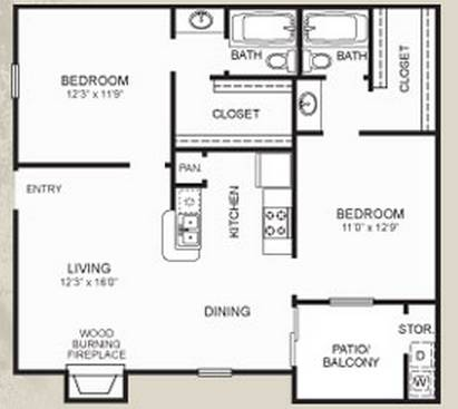x0024415 Roommate needed for Fall 2014-Spring 2015 (Meadows Point Appartments)