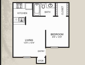 Reduced to $425 (Meadow Point Apartments)