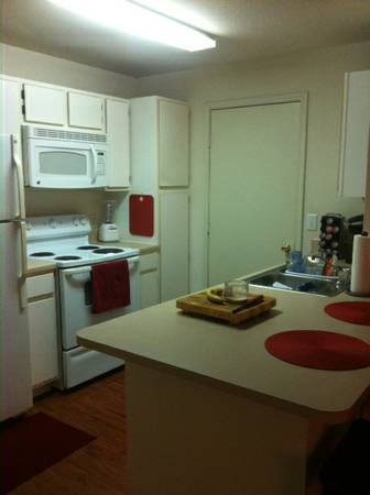 - $525 1br - Subleasing 1 out of 2 bedroom student apartment (The Zone Apartments)