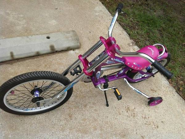 Pink Schwinn Stingray OCC Chopper Bicycle - $100 (Bryan)
