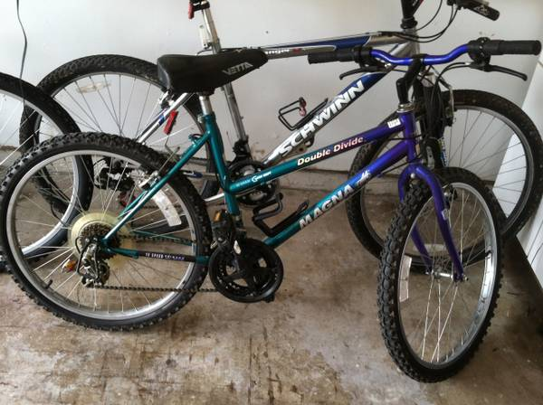 24inch Magna double divide mountain bike - x002430 (Bryan)