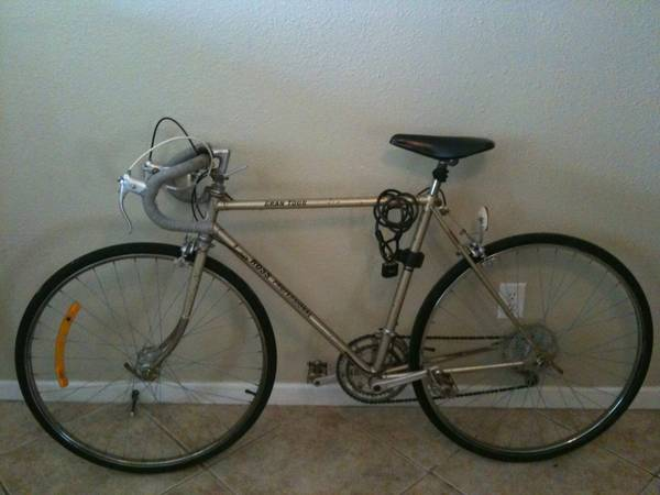 27 Road Bike - Ross Professional Gran Tour (Free U-lock) - $130 (College Main St, Bryan, TX)