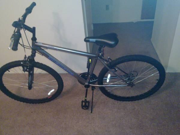26 Mens Roadmaster Mountain Bike (18-speed) with accessories (BCS)