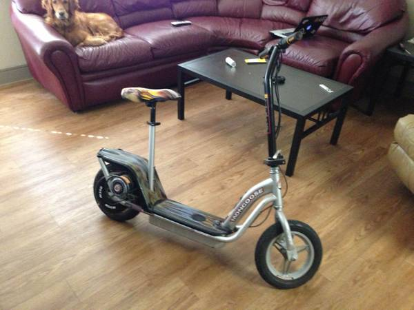 Mongoose m350 24 volt electric scooter - $100 (college station)