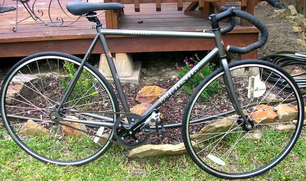 Fixed GearTrack bike (Fixie) - 54 cm - $234 (South College Station)