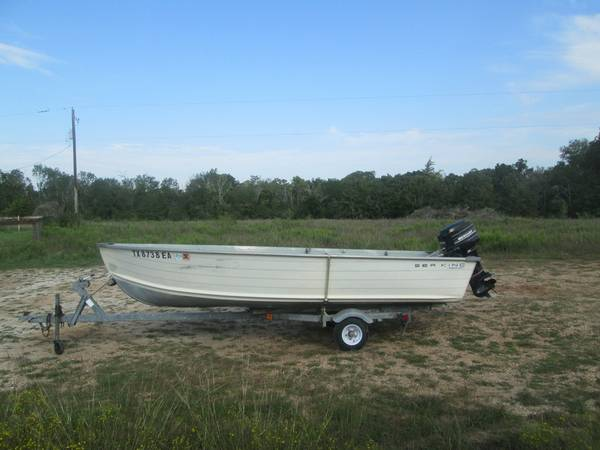 SMOKER CRAFT 14 ALUMINUM BOAT $1,300 - $1300 (bryan)