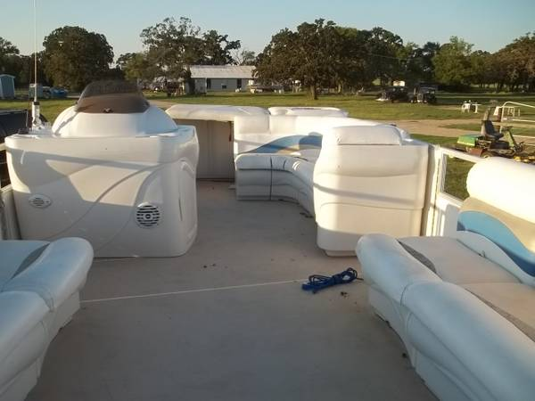 2006 22ft sunset bay  pontoon - $5000 (madisonville)