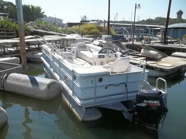 2006 22ft sunset bay  pontoon  - $4595 (madisonville)