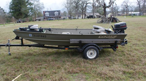 2004 Lowe 14ft 48 Aluminum Flat Bottom Boat (LAKE CONROE)