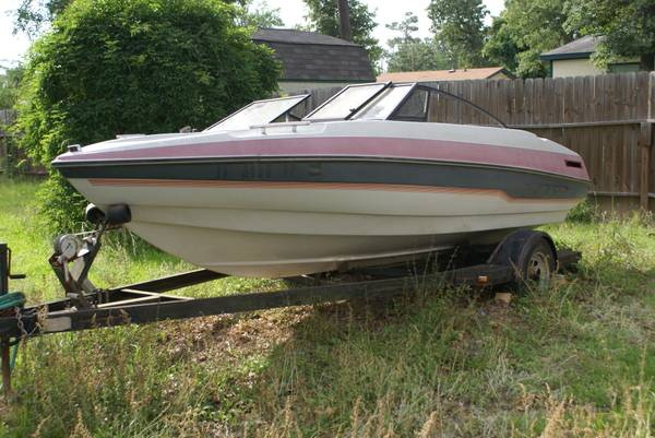 VIP 1989 SPLIT WINDOW 17 BOAT - $900 (MAGNOLIA)