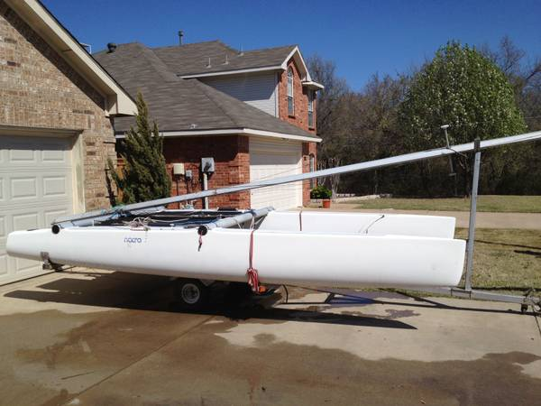 Nacra 5.2 Catamaran Sailboat - $1000 (Lewisville)