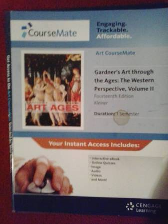 E-BOOK for Art History II- Gardner s Art through the Ages   College Station