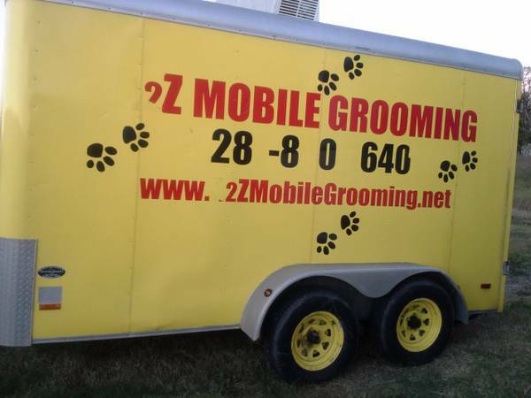 Mobile Grooming Trailer - $6500 (Fresno)